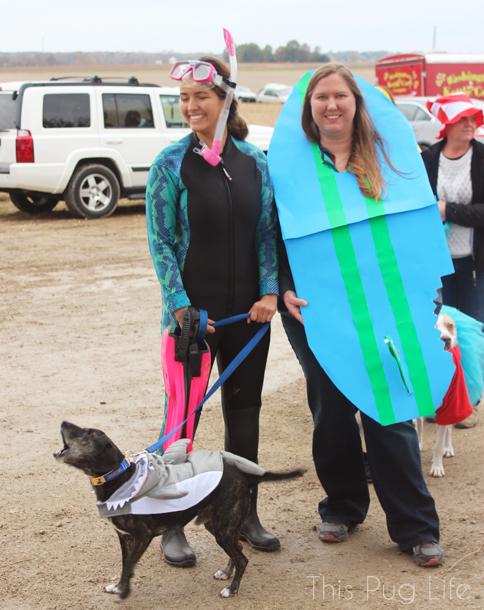Howloween Festival Shark Dog