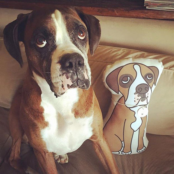 Custom Pet Pillow Etsy