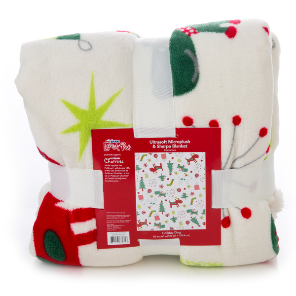 Luv-A-Pet Holiday Blanket