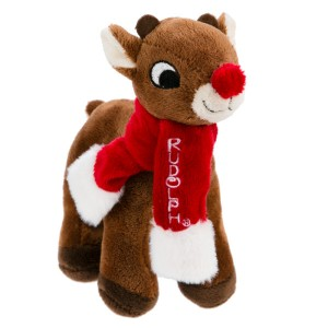 Rudolph The Red-Nosed Reindeer Plush Dog Toy