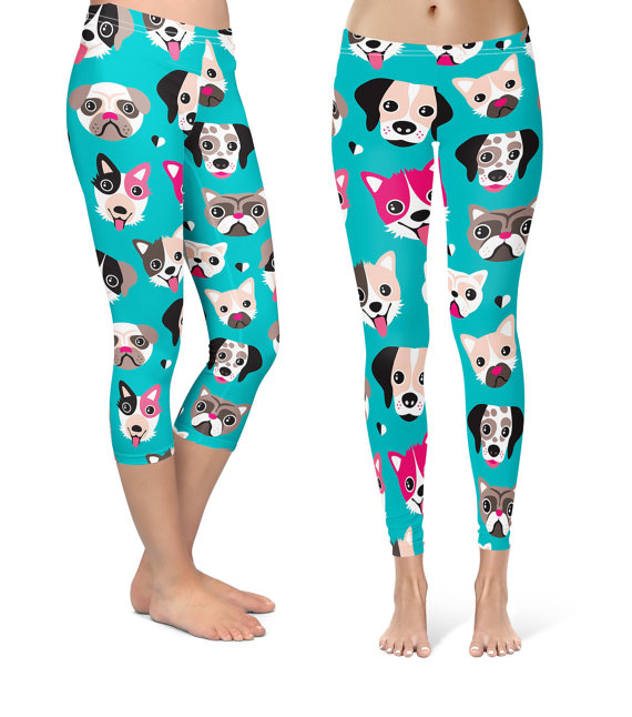 Dog Face Leggings Adult