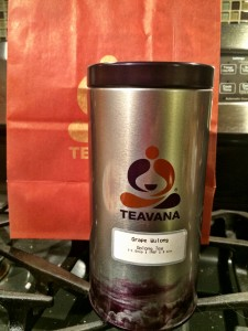 Teavana Grape Wulong Oolong Tea in Tin