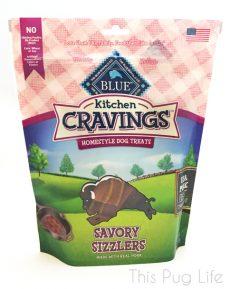 Blue Buffalo Kitchen Cravings Savory Sizzlers Pork Flavor