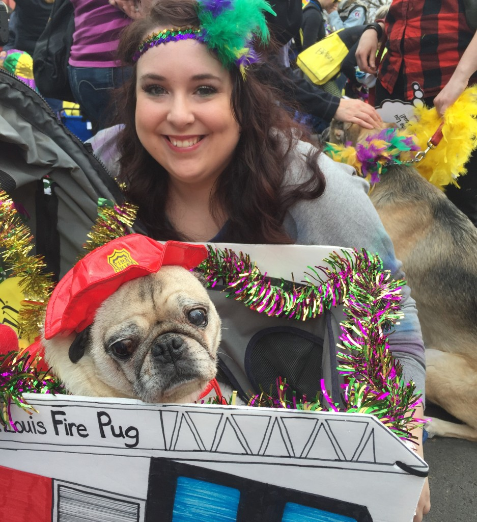 Pug and Me Beggin' Pet Parade