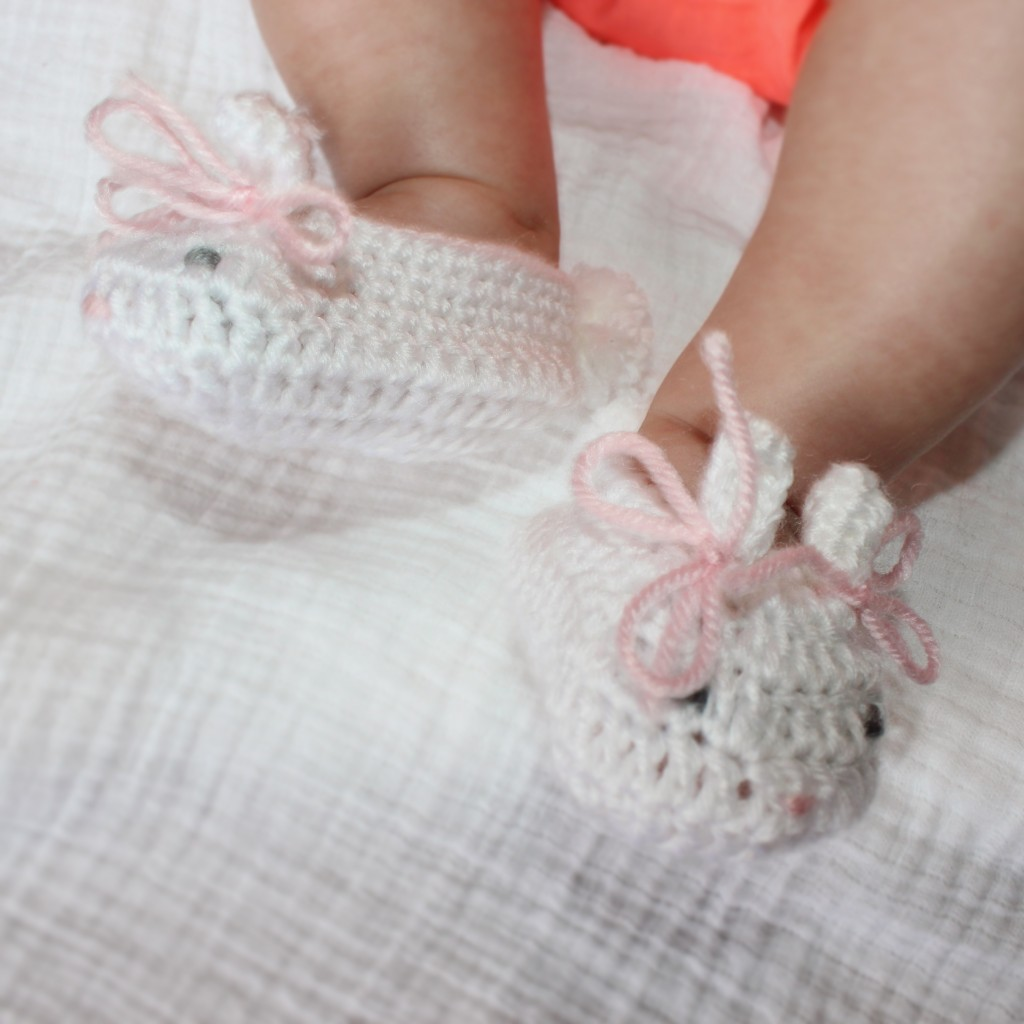 Crochet Bunny Baby Shows for Easer