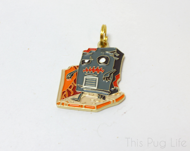 Loot Pets February 2016 zombie Dog Tag