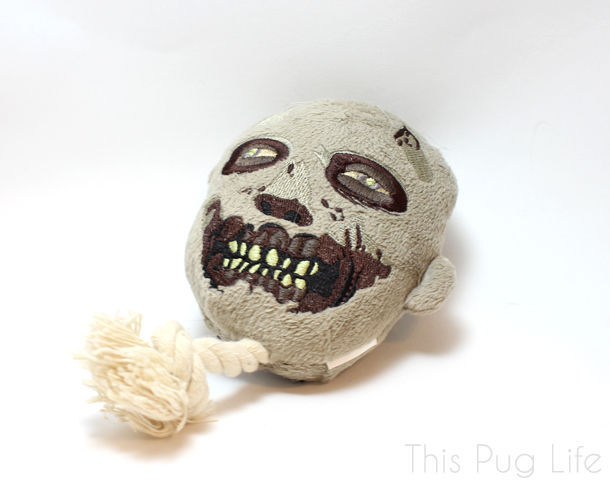 Loot Pets February The Walking Dead Zombie Dog Toy