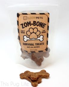 Loot Pets February 2016 Zom-Bone Survival Treats