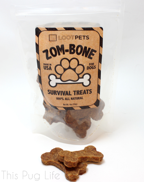 Loot Pets February 2016 Zom-Bone Survival Treats