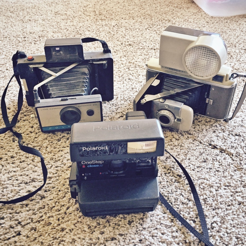 Vintage Polaroid Cameras