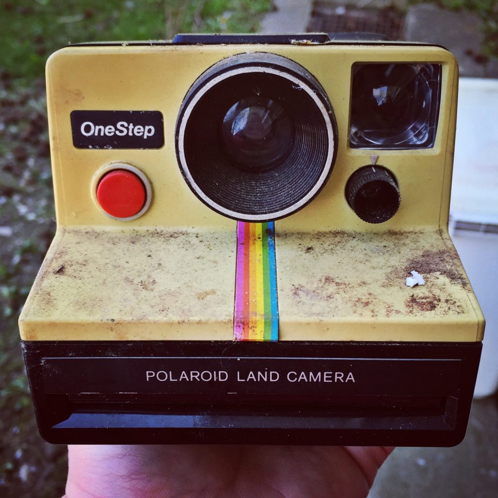 Vintage Polaroid Instagram Camera