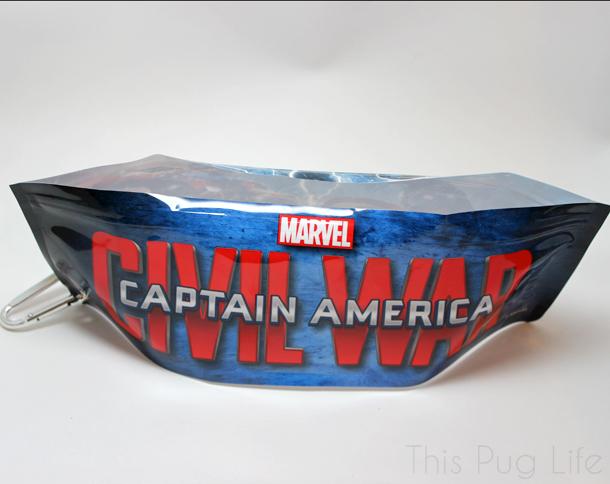 Loot Pets March 2016 Captain America Disposable Pet Bowl