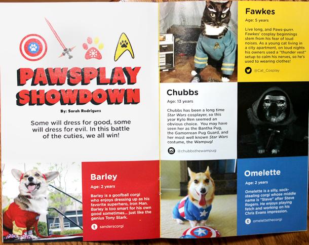 Loot Pets March 2016 Magazine Chubbs the Wampug