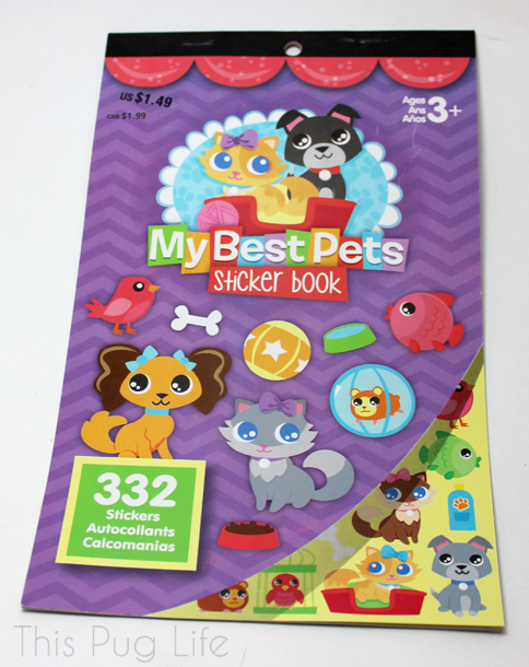 My Best Friends Sticker Book