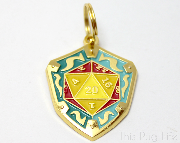 Loot Pets April 2016 D2 Shield Dog Tag