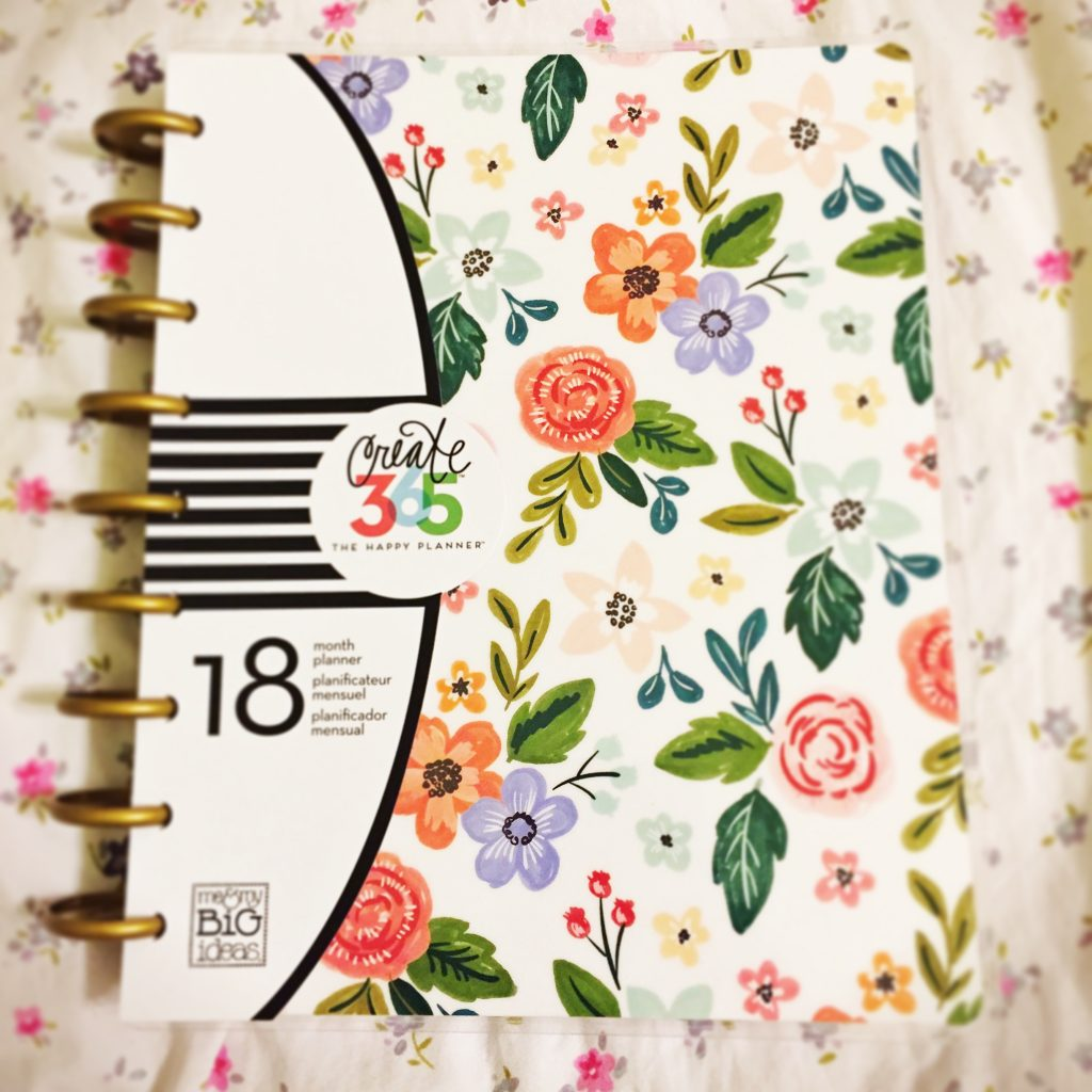 MAMBI Happy Planner Fresh Floral