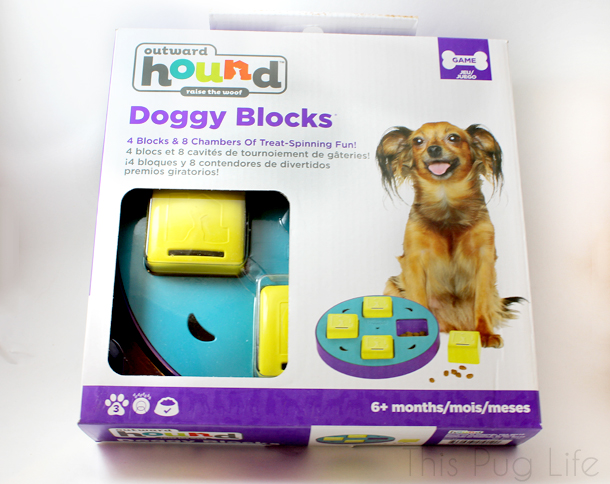 Outward Hound Doggy Blocks Puzzle Toy