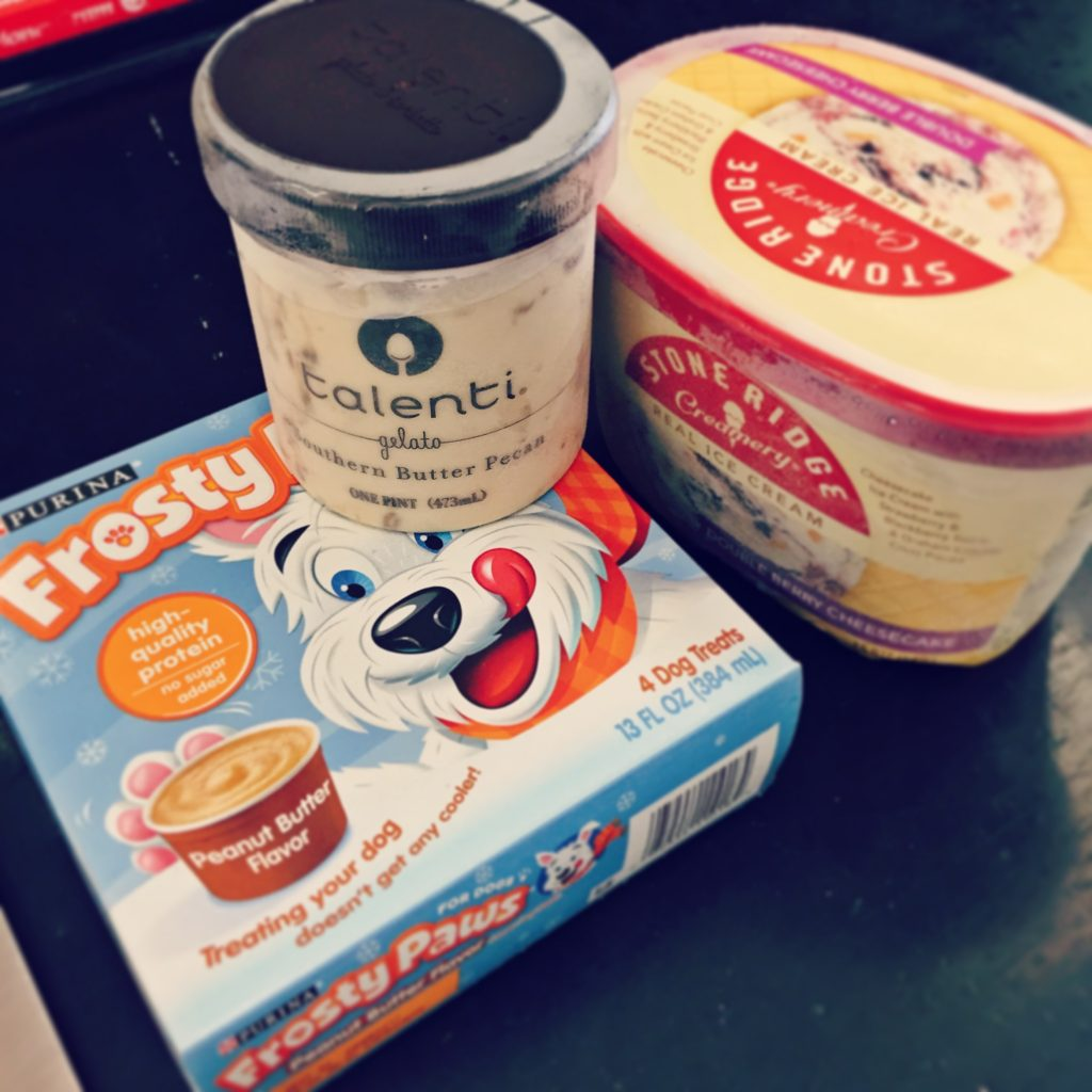 National Ice Cream Day Talenti Ice Cream and Frosty Paws