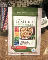 Pug Reviews: Nature's Variety Instinct Raw Market Meal Blends