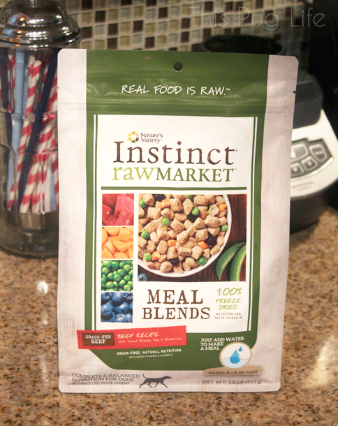 Natures Variety Instinct Raw Market Meal Blends