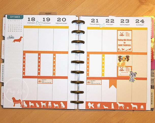 Strut Your Mutt Best Friends Animal Society Happy Planner Erin Condren stickers