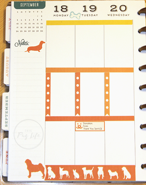 Strut Your Mutt Best Friends Animal Society Happy Planner Erin Condren stickers
