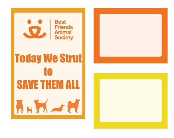 Best Friend's Animal Society Strut Your Mutt Planner stickers free printable