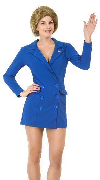 Sexy Hillary Clinton pansuit Halloween costume