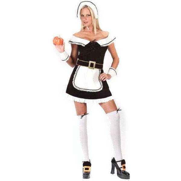 Sexy Pilgrim Halloween Costume