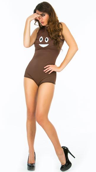 Sexy Poop Emoji Halloween Costume