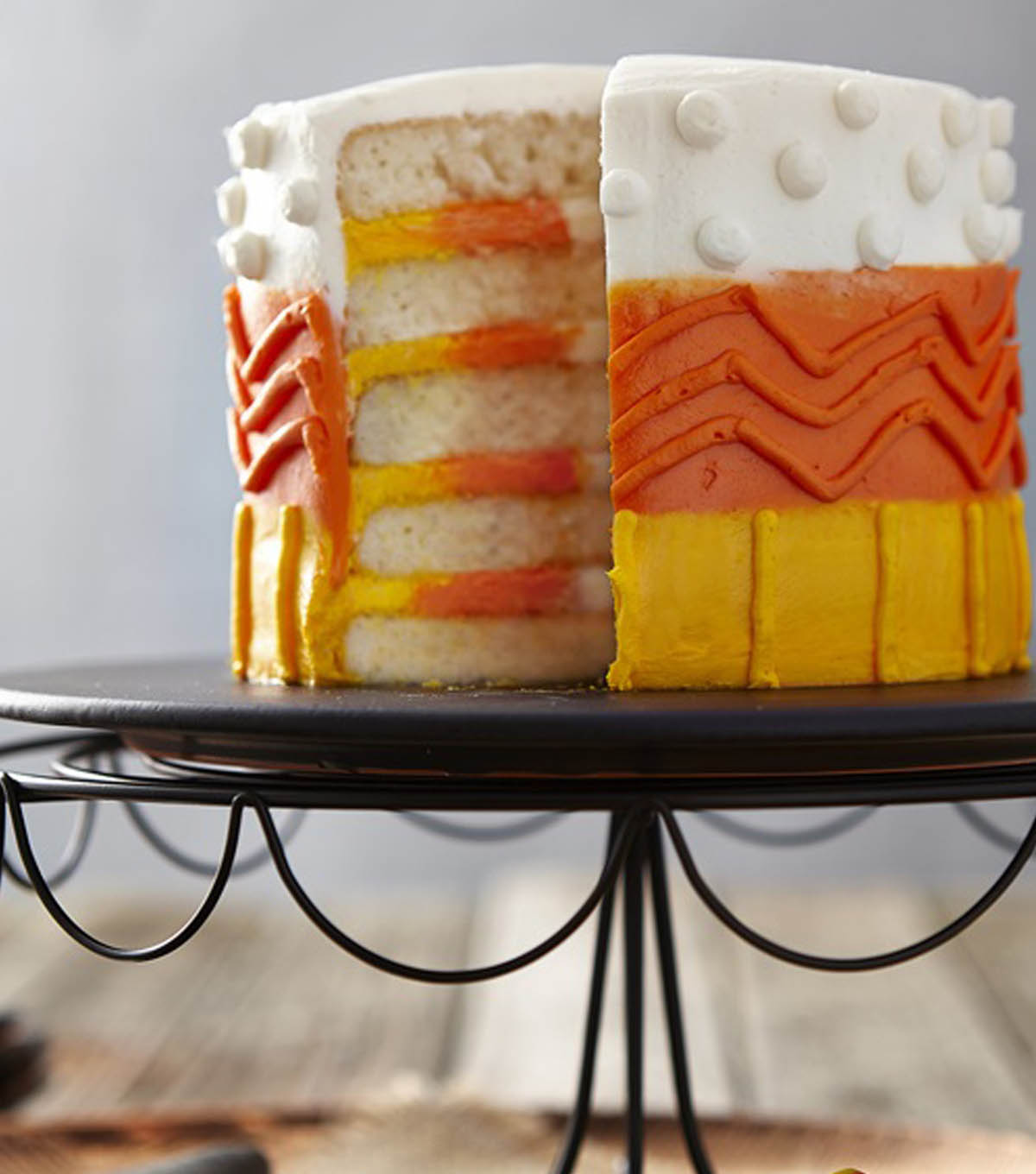 Candy Corn Layers Cake