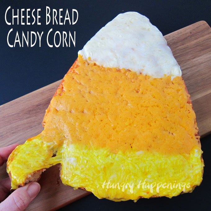 Cheese Bread Candy Corn