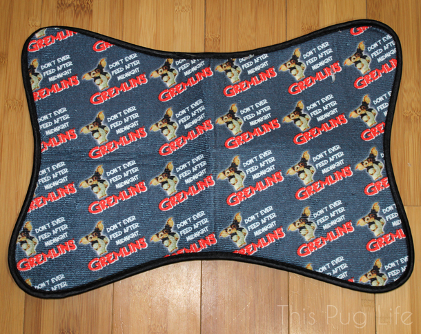 Loot Pets November 2016 Gremlins Pet Food Mat