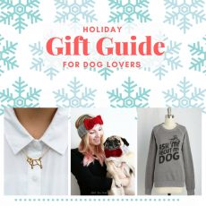 Holiday Gift Guide for Dog Lovers 2016