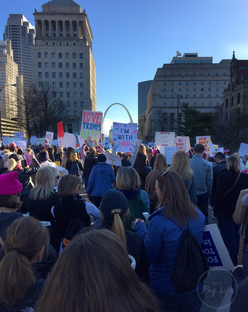 Women's March on St. Louis