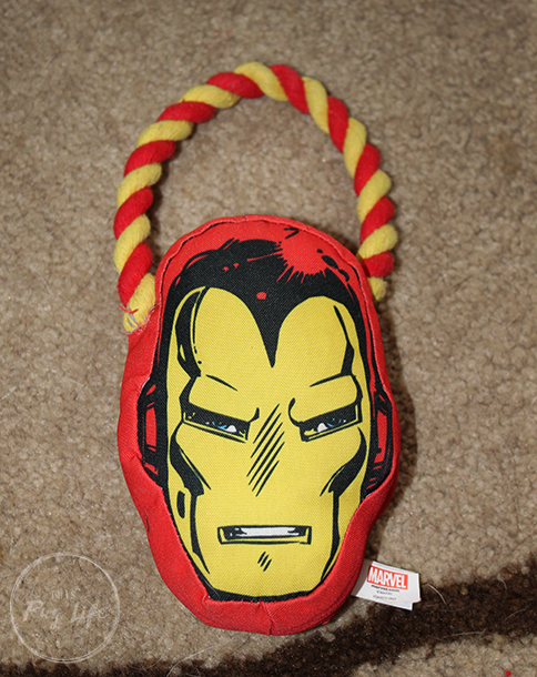 Loot Pets February 2017 Iron Man Dog Toy