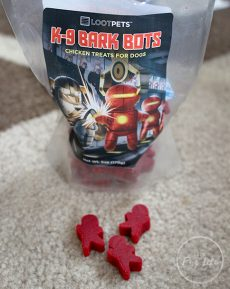 Loot Pets February 2017 K9 Bark Bots treats