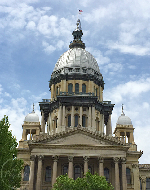 Illinois State Capitol Building Springfield