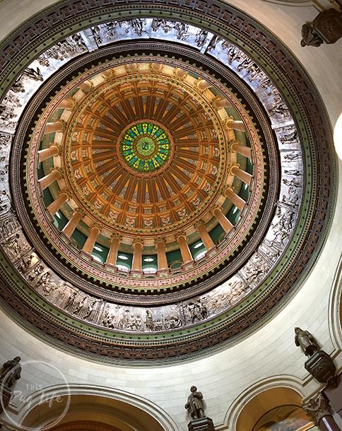 Springfield Illinois State Capitol Rotunda