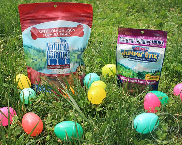 Natural Balance LIT treats easter egg hunt review
