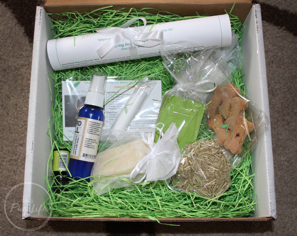 The Nurturing Paw Seasonal Subscription Box