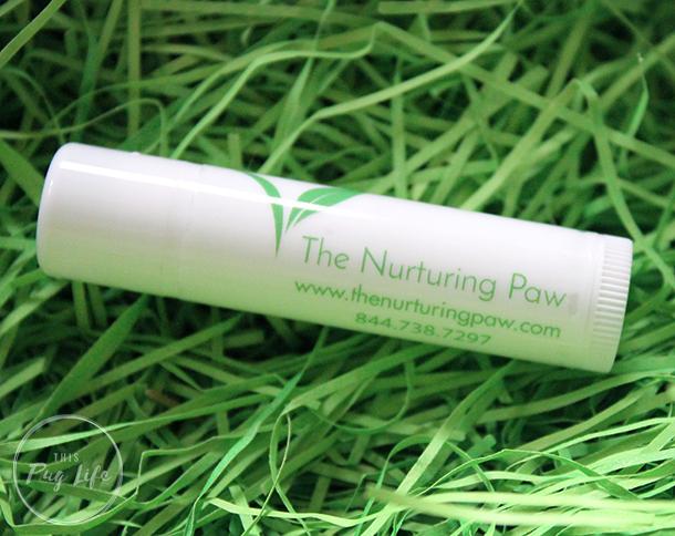Nurturing Paw Lemongrass Lip Balm