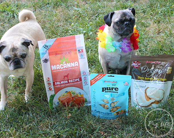 Grandma Lucy's Macanna Pureformance treats coconut oven baked treats