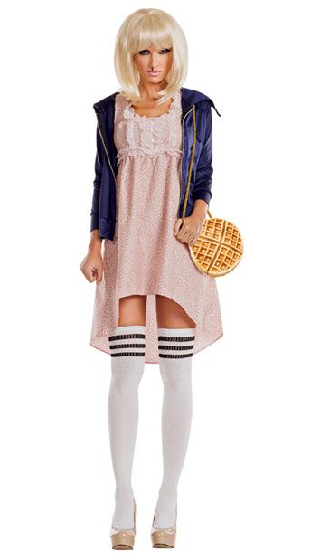 Sexy Eleven from Stranger Things costume