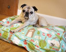 Molly Mutt Dog Duvet Pug