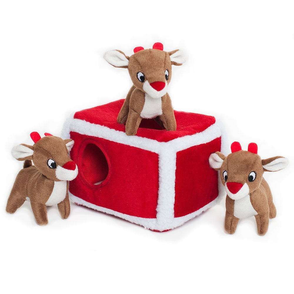 Rudolph burrow toy