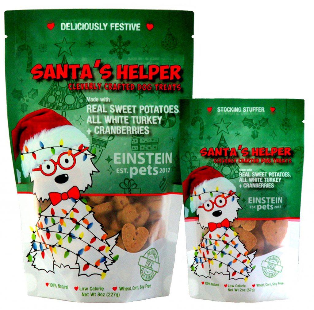 Santa's Helper holiday dog treats