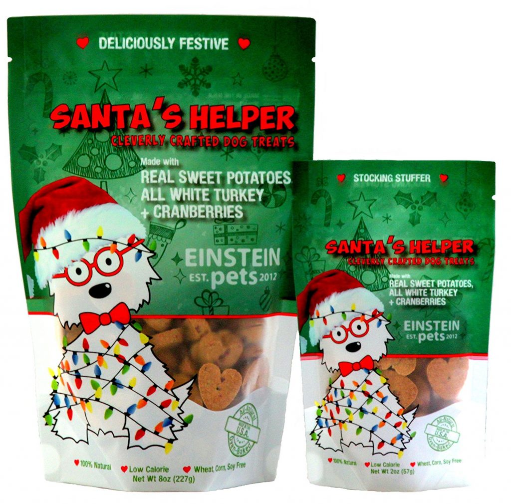 Santa's Helper holiday dog treats