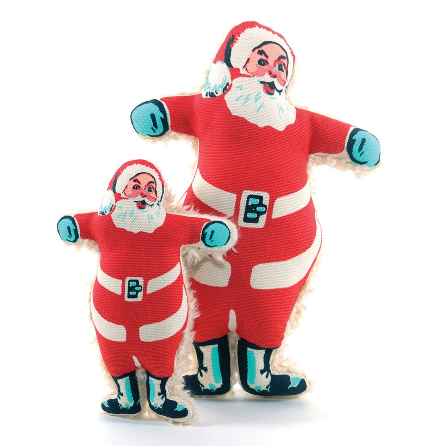 vintage santa claus dog toys