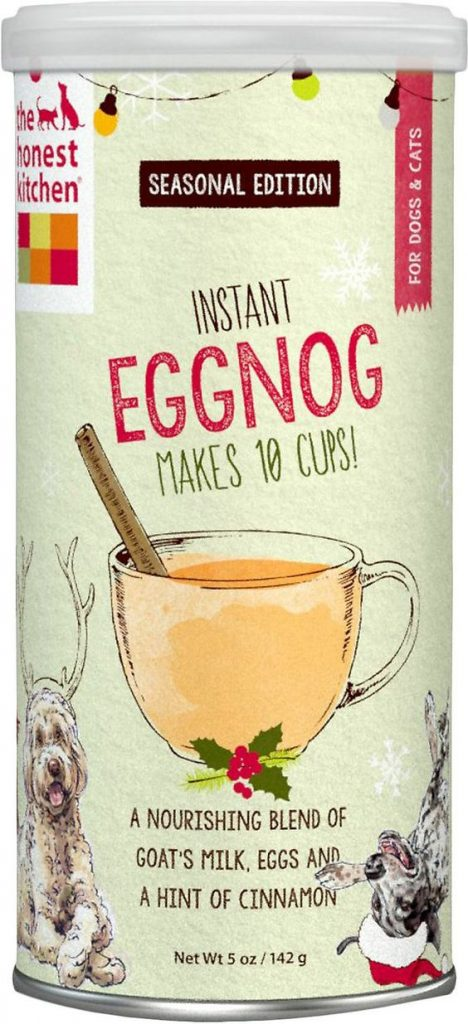 Honest Kitchen Instant Goat's Milk eggnog for dogs